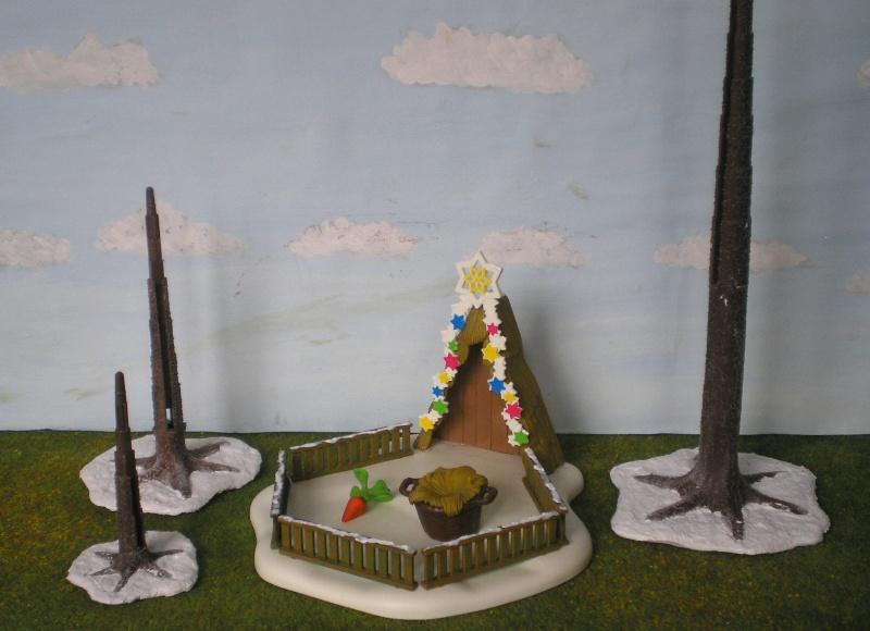 Weihnachtswelt mit PLAYMOBIL-Figuren und -Zubehör 002c2_11