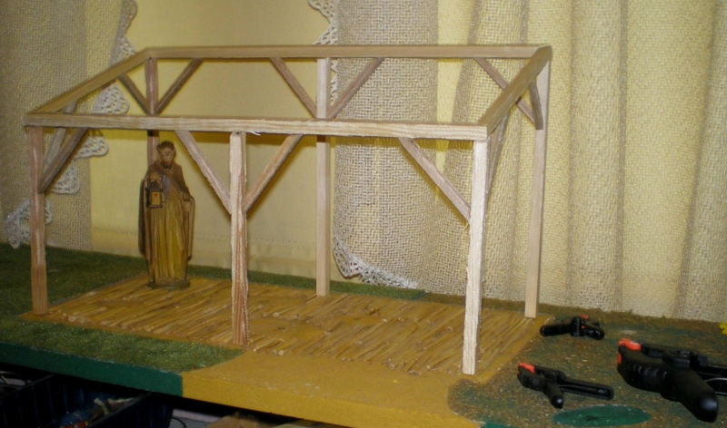 Krippen-Diorama zur Figurengröße 16 cm 002c3c10