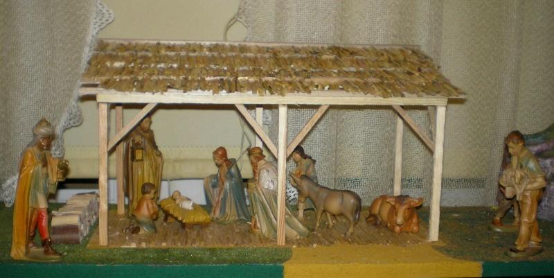 Krippen-Diorama zur Figurengröße 16 cm 002d5b10