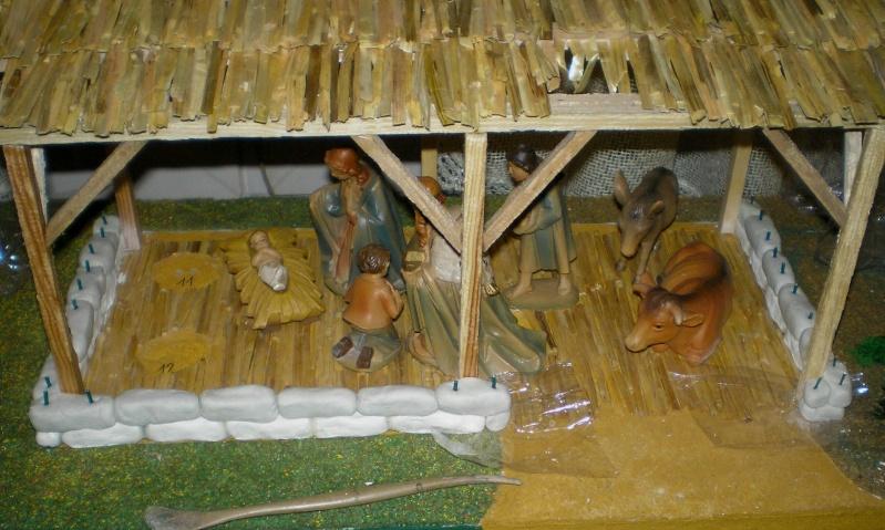 Krippen-Diorama zur Figurengröße 16 cm 002e3b10