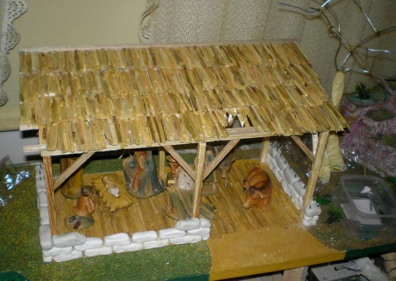 Krippen-Diorama zur Figurengröße 16 cm 002e4_10