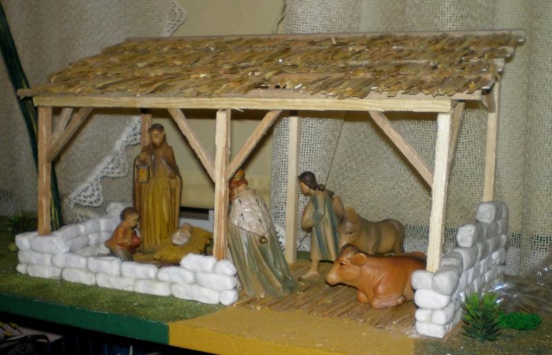 Krippen-Diorama zur Figurengröße 16 cm 002e6_10