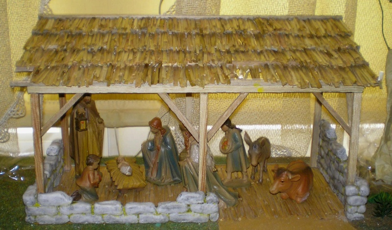 Krippen-Diorama zur Figurengröße 16 cm 002e7_10