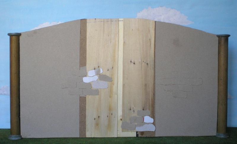 Krippen-Diorama zur Figurengröße 16 cm 003a6b10