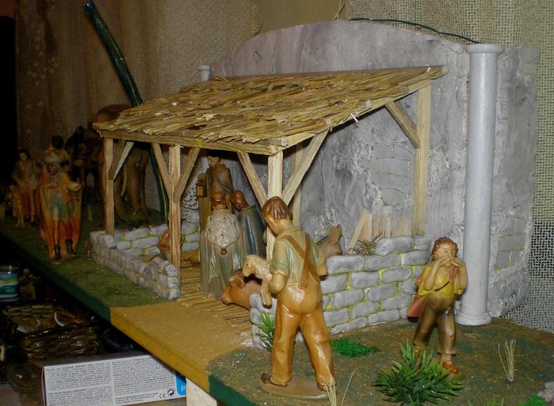 Krippen-Diorama zur Figurengröße 16 cm 003a8b12