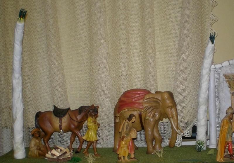 Krippen-Diorama zur Figurengröße 16 cm 004b2_10