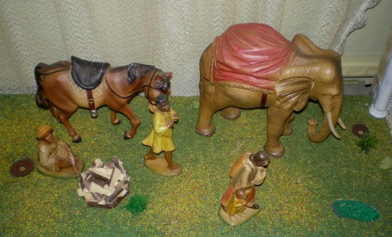 Krippen-Diorama zur Figurengröße 16 cm 004b3b10