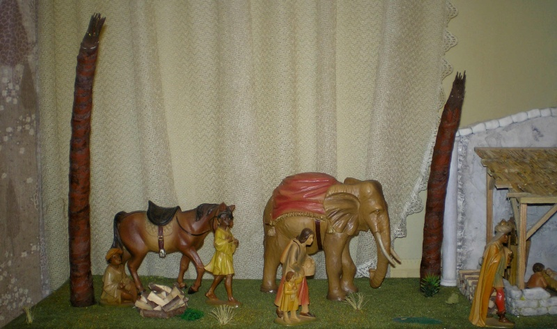 Krippen-Diorama zur Figurengröße 16 cm 004b3c10