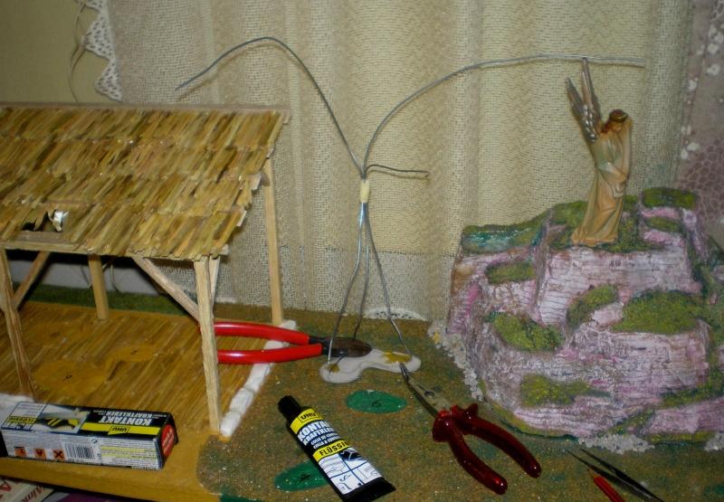 Krippen-Diorama zur Figurengröße 16 cm 005a1_10