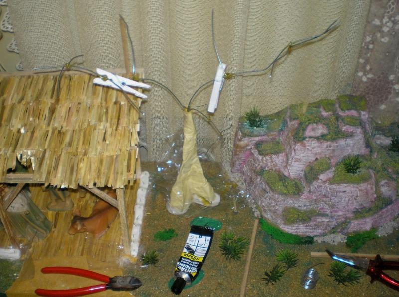 Krippen-Diorama zur Figurengröße 16 cm 005a5_10