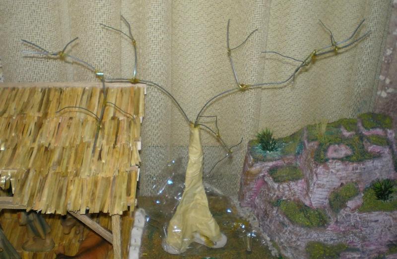 Krippen-Diorama zur Figurengröße 16 cm 005a6b10