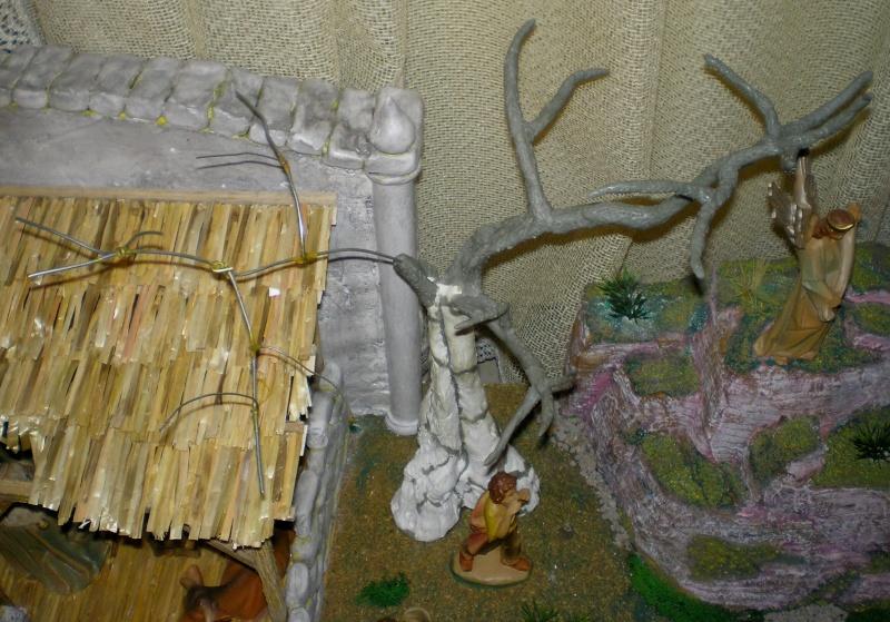 Krippen-Diorama zur Figurengröße 16 cm 005b2b15