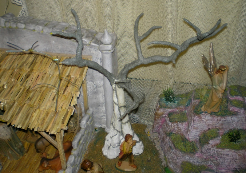 Krippen-Diorama zur Figurengröße 16 cm 005b2b16