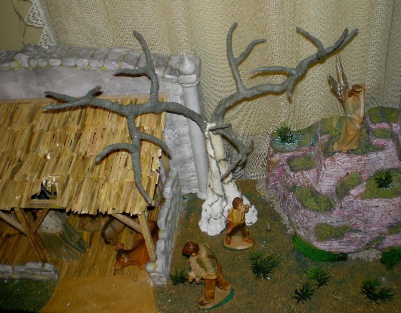 Krippen-Diorama zur Figurengröße 16 cm 005b2b17