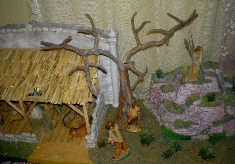 Krippen-Diorama zur Figurengröße 16 cm 005c4d10