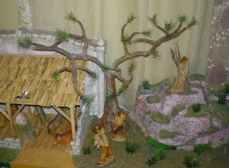 Krippen-Diorama zur Figurengröße 16 cm 005d1_10