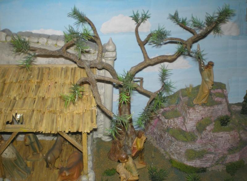 Krippen-Diorama zur Figurengröße 16 cm 005d2_10