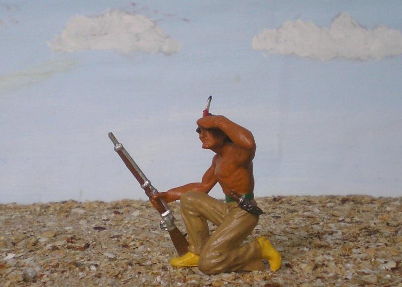 Bemalungen, Umbauten, Modellierungen – neue Indianer für meine Dioramen - Seite 4 006e_e10