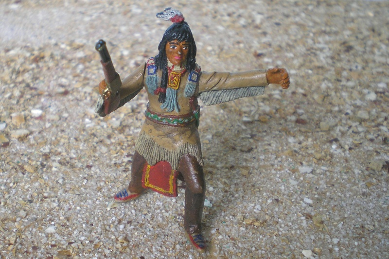 Bemalungen, Umbauten, Modellierungen – neue Indianer für meine Dioramen - Seite 4 116d6a10