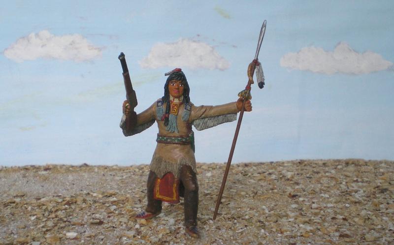 Bemalungen, Umbauten, Modellierungen – neue Indianer für meine Dioramen - Seite 4 116d6b10