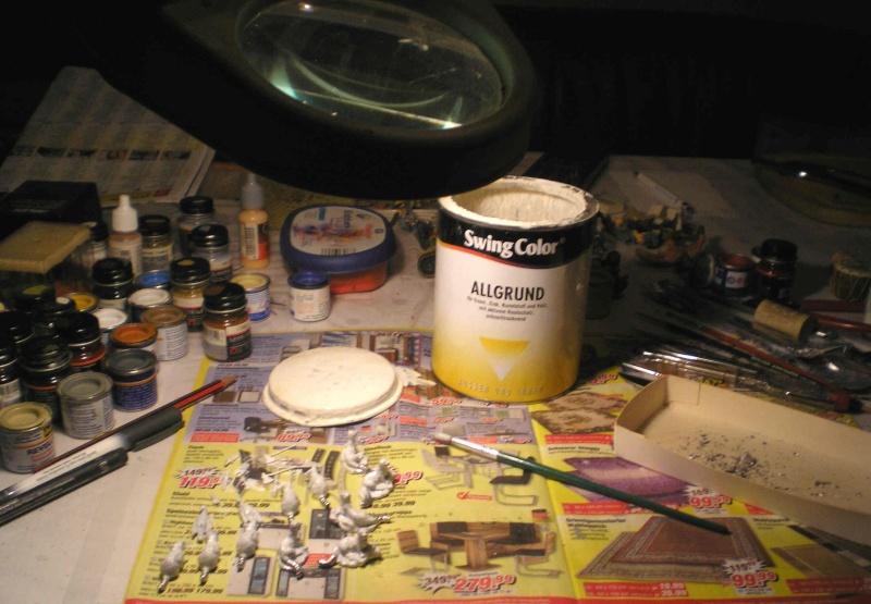 Bemalungen, Umbauten, Modellierungen - neue Tiere für meine Dioramen 126a_z10