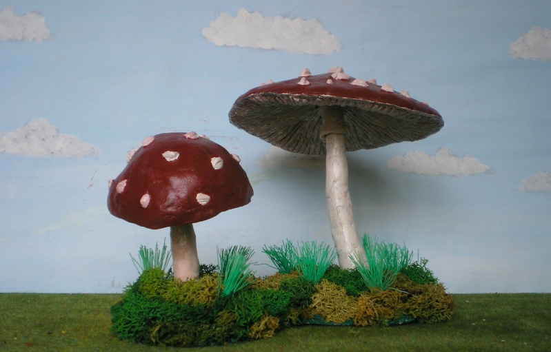 Gestaltung eines herbstlichen Dioramas zur Wohnungs-Dekoration 162i1b10