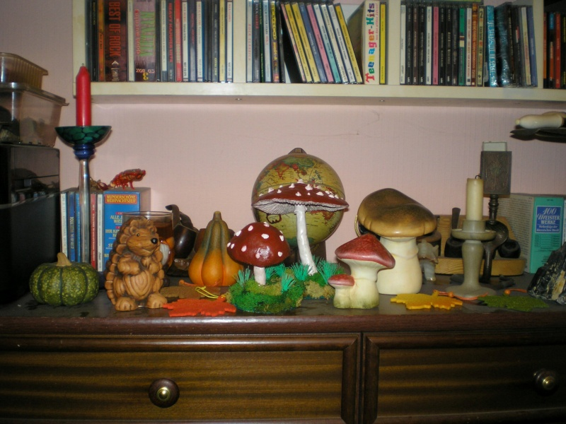 Gestaltung eines herbstlichen Dioramas zur Wohnungs-Dekoration 162i2b10