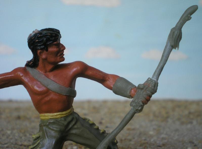 Bemalungen, Umbauten, Modellierungen – neue Indianer für meine Dioramen - Seite 4 180i5b13
