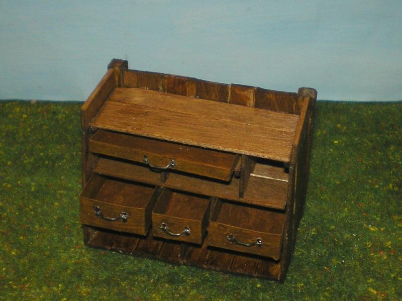 Eigenbau eines Chuck Wagons für Figurengröße 7 cm (Maßstab 1:24) 187d4c10