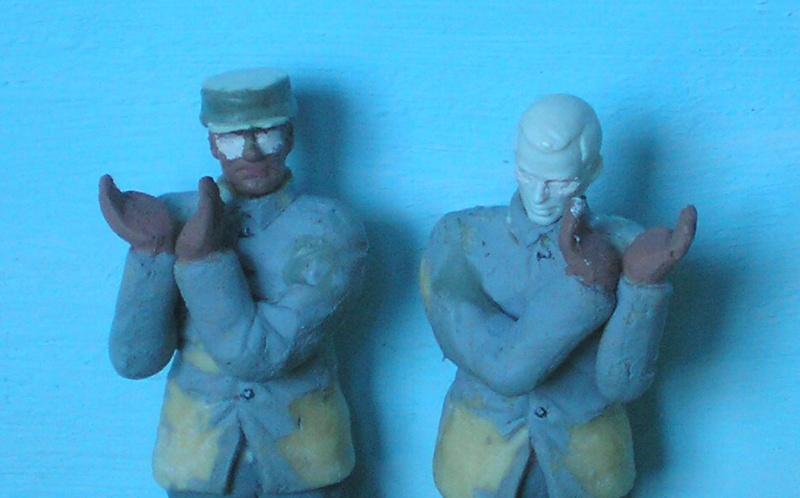 Bemalungen, Umbauten, Modellierungen - neue Soldaten für meine Dioramen 190k5e11