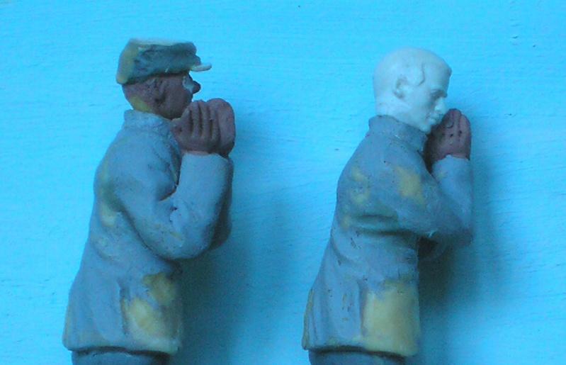 Bemalungen, Umbauten, Modellierungen - neue Soldaten für meine Dioramen 190k5e12