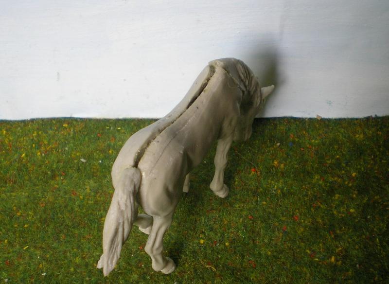 Bemalungen, Umbauten, Modellierungen - neue Tiere für meine Dioramen 202b1_10