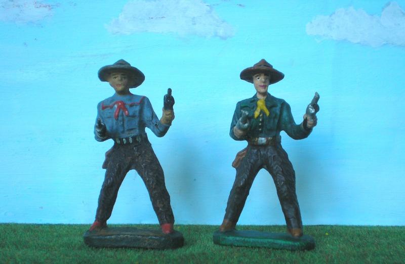 Bemalungen, Umbauten, Modellierungen - neue Cowboys für meine Dioramen - Seite 2 Elasto19