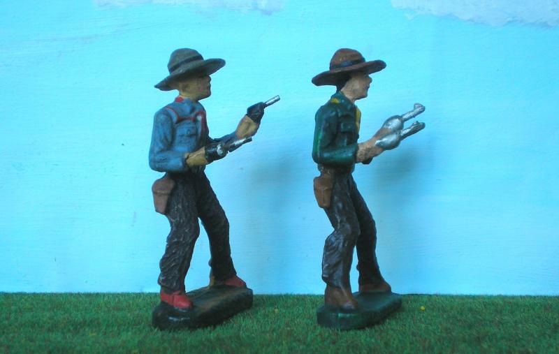 Bemalungen, Umbauten, Modellierungen - neue Cowboys für meine Dioramen - Seite 2 Elasto20