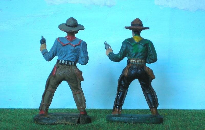 Bemalungen, Umbauten, Modellierungen - neue Cowboys für meine Dioramen - Seite 2 Elasto21