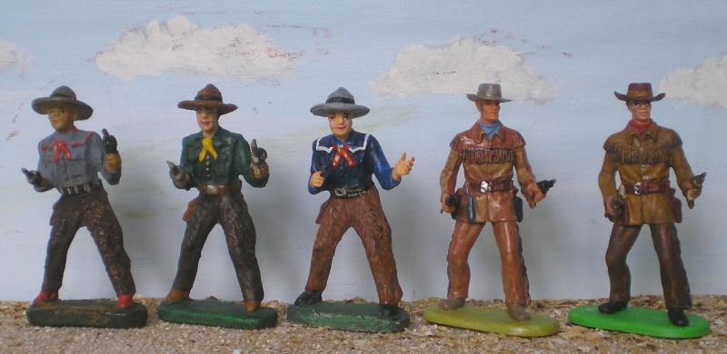Bemalungen, Umbauten, Modellierungen - neue Cowboys für meine Dioramen - Seite 2 Elasto27