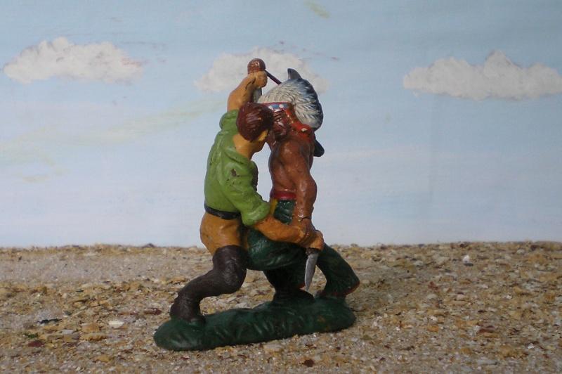 Bemalungen, Umbauten, Modellierungen - neue Cowboys für meine Dioramen - Seite 2 Elasto30