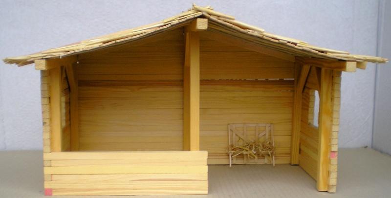 Krippen-Diorama zur Figurengröße 16 cm Krippe12