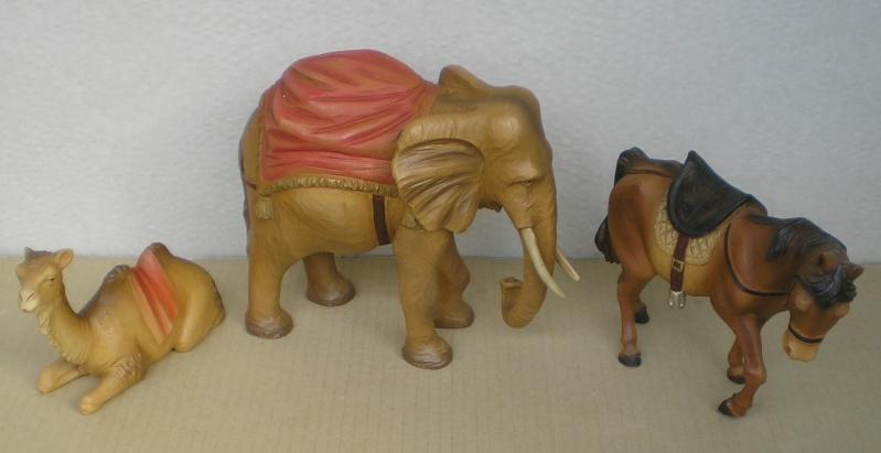 Krippen-Diorama zur Figurengröße 16 cm Krippe17