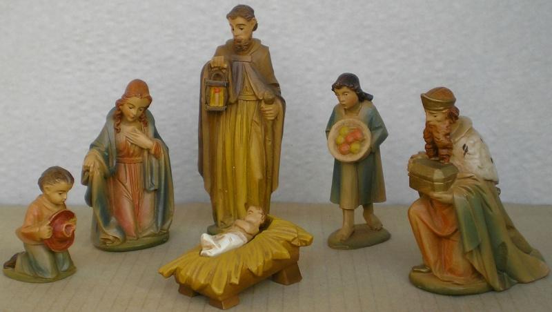 Krippen-Diorama zur Figurengröße 16 cm Krippe19