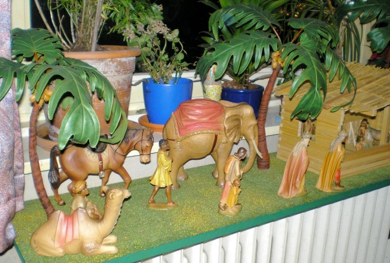 Krippen-Diorama zur Figurengröße 16 cm Krippe32