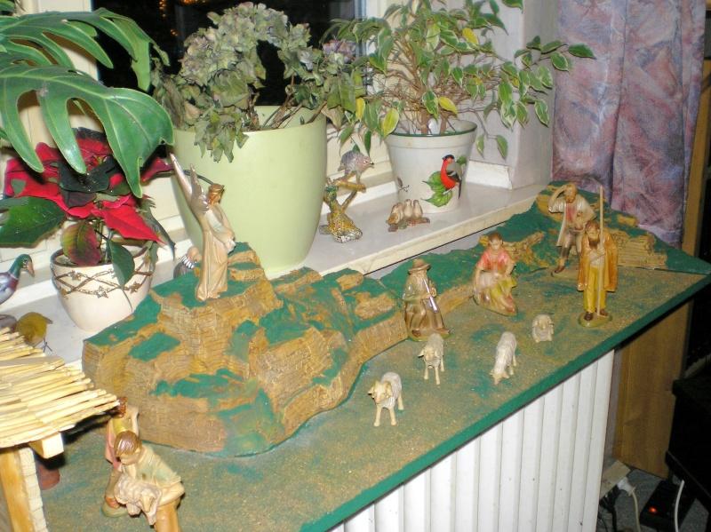 Krippen-Diorama zur Figurengröße 16 cm Krippe36