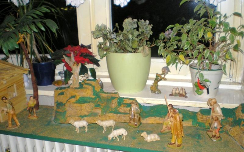 Krippen-Diorama zur Figurengröße 16 cm Krippe37