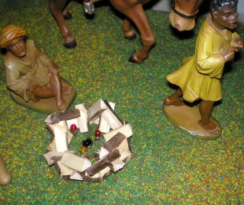 Krippen-Diorama zur Figurengröße 16 cm Krippe44