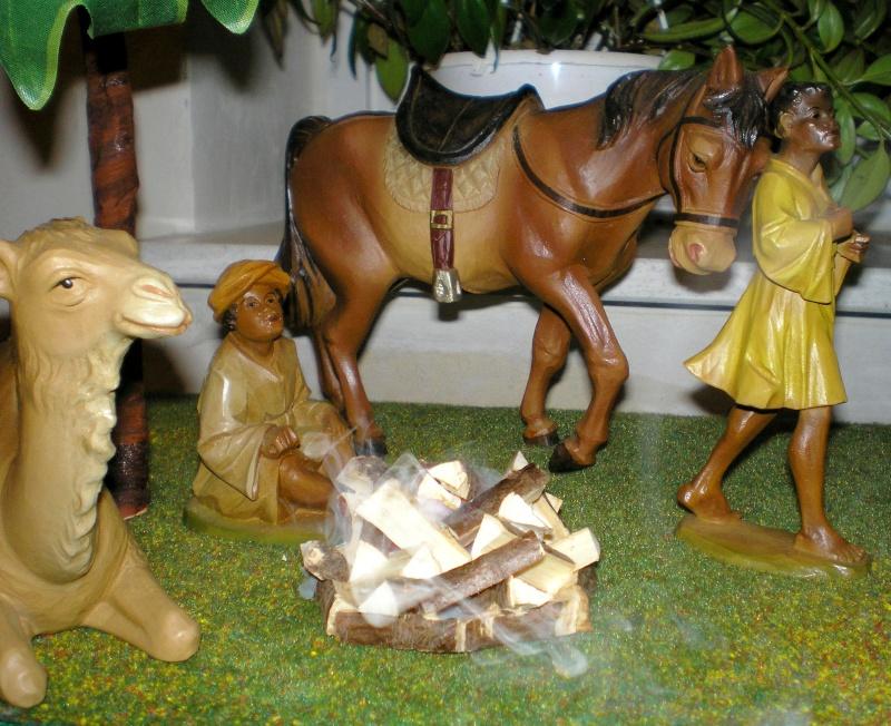 Krippen-Diorama zur Figurengröße 16 cm Krippe47