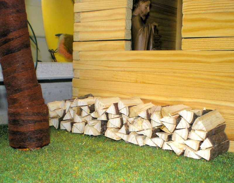 Krippen-Diorama zur Figurengröße 16 cm Krippe49