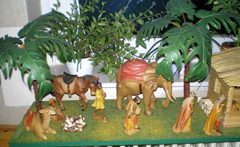 Krippen-Diorama zur Figurengröße 16 cm Krippe50