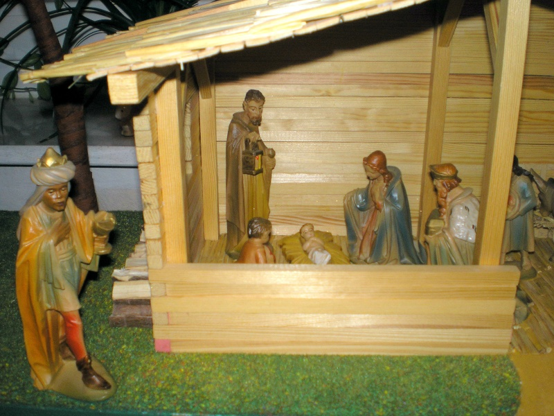 Krippen-Diorama zur Figurengröße 16 cm Krippe53