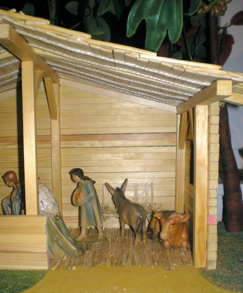 Krippen-Diorama zur Figurengröße 16 cm Krippe54