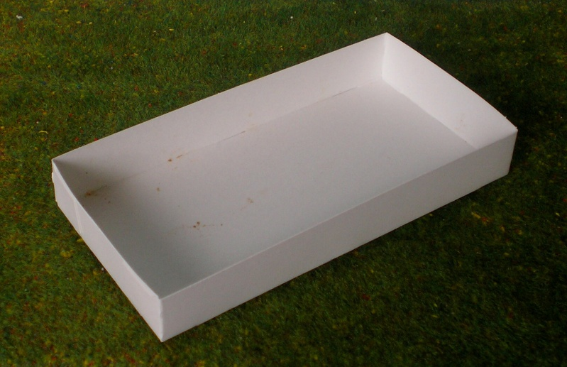 Eigenbau eines Chuck Wagons für Figurengröße 7 cm (Maßstab 1:24) Materi12